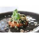 Vegetarisch: Risotto van quinoa met spinazie, tofu en tomaat
